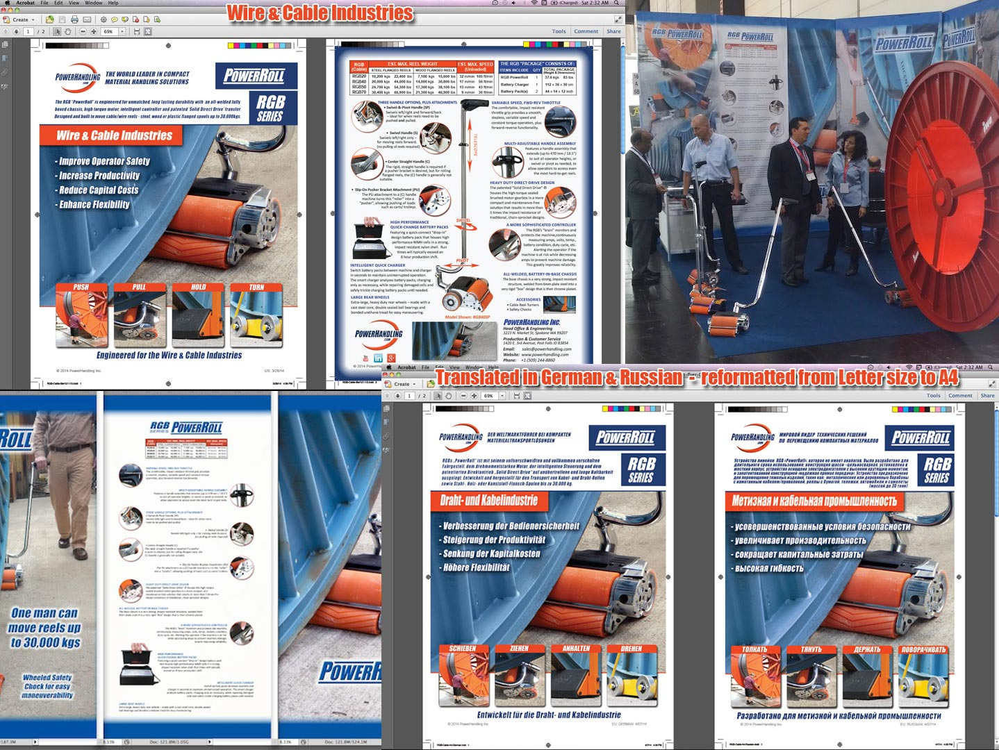 Powerhandling Docs and Event Banners